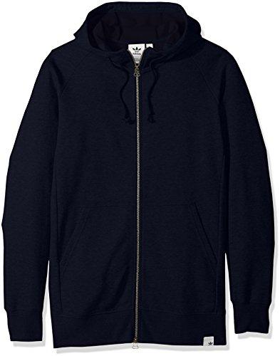 adidas Originals Sudadera con capucha para hombre Outerwear X by O Full Zip - - Large