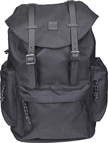 Urban Classics Backpack With Multibags Rucksack 45 cm, 16 L, Black