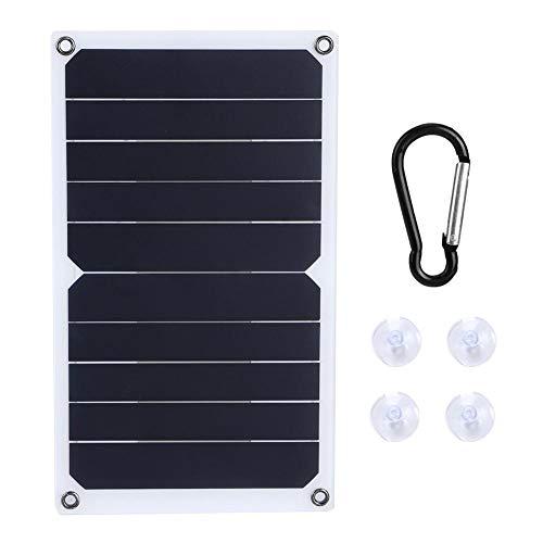 Estink Panel de Carga Solar fotovoltaico de 5V Cargador Conjunto de Panel Solar de Salida regulada para Panel Solar portátil al Aire Libre