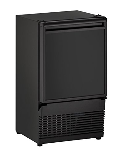 U-Line UBI95B00A Undercounter Crescent Ice Maker, 14', Black