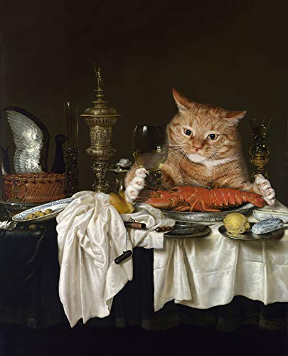 Ranefe Jigsaw Puzzles 1000 Pieces for Adults, Classic Oil Paintings Puzzles for Adults 1000 Piece Cats Cheap Funny Beautiful Ingood Puzzles for Adults 1000 Piece Puzzles Prime
