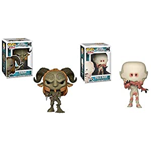 FunkoPOP Pan'S Labyrinth: Fauno + Pale Man - Stylized Movie Vinyl Figure Bundle Set 2