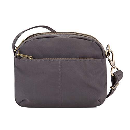 Travelon Anti-Theft Signature E/w Shoulder Bag, Smoke, One Siz