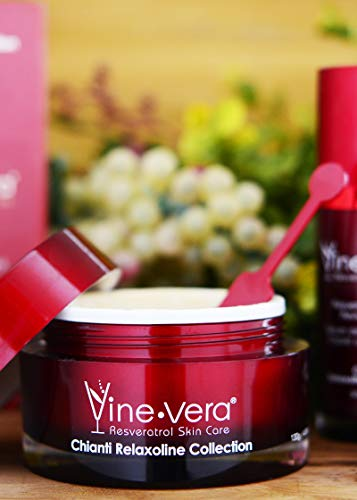 Vine Vera Chianti Collection Resveratrol Thermic Mask 4.58 Oz