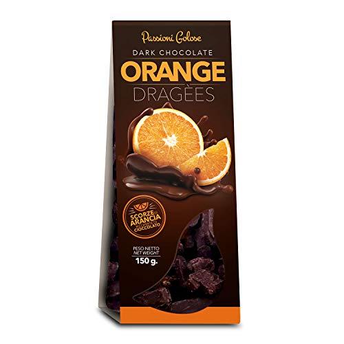 Arancio candito ricoperti di cioccolato 200gr