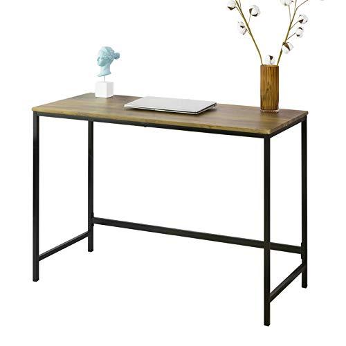 SoBuy FWT68-F Mesa de Escritorio, Mesa de Ordenador de Oficina 110 x 50 x 76 cm Diseño Industrial ES