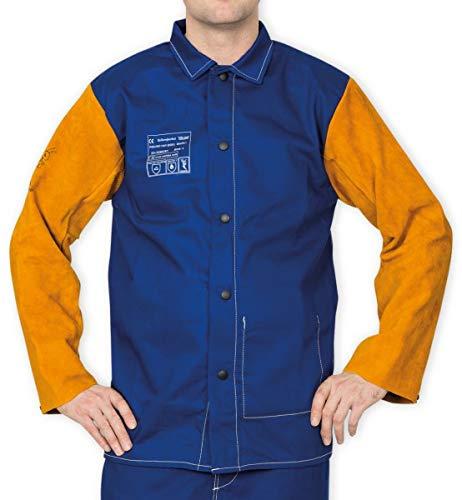 Weldas Schweisserjacke Yellowjacket 33-3060 Gr. 4XL 33-3060 XXXXL Jacken Schweißerjacken Leder & Textil