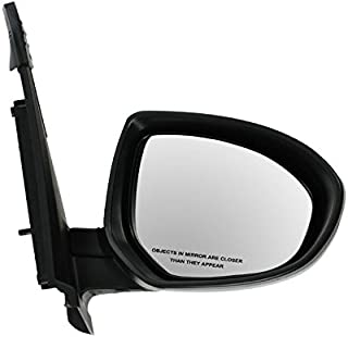Power Side View Mirror Manual Folding RH Passenger Side for 11-13 Mazda 2