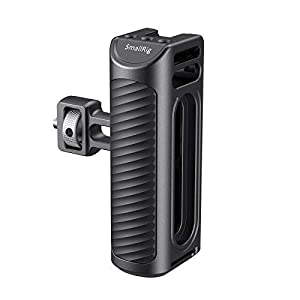 SMALLRIG Smartphone Video Grip with Cold Shoe Mount, Camera Grip, Mobile Phone Video Holder, Adjustable Grip for Smartphone Rig for YouTube Tiktok (CPU2391, CPU2494, CPA2471, CPA2455) - HSS2424