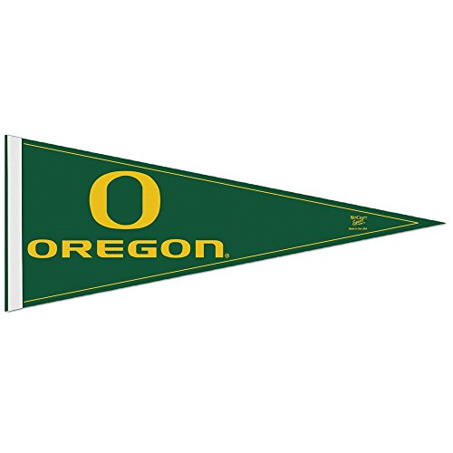 "WinCraft NCAA University of Oregon WCR63935471 Carded Classic Pennant, 12"" x 30"""