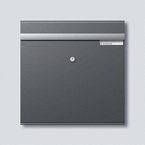 Siedle&Söhne Briefkasten-Modul BKM 611-4/4-0 DG dgr/GLI m.Einwurfk. Sonstiges;Vario Montageelement für Türstation 4015739388738