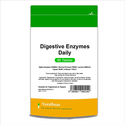 Nordhaus Digestive Enzymes Daily - 90 Tablets