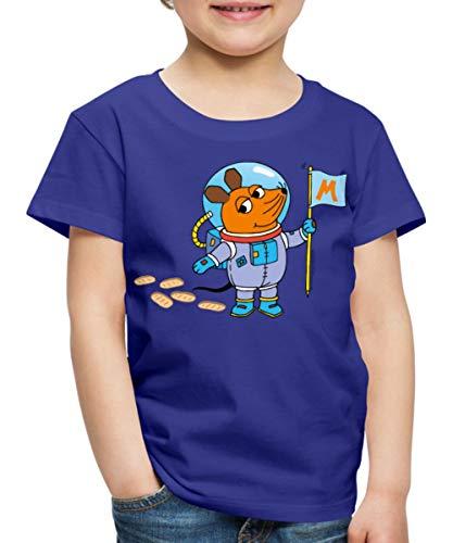 Sendung Mit Der Maus Maustronaut Im Weltall Kinder Premium T-Shirt, 98-104, Königsblau