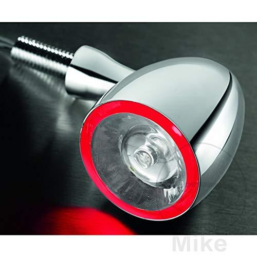 Kellermann LED Rücklicht/Blinker M8 Bullet 1000® DF Chrom, Unisex, Multipurpose, Ganzjährig, Metall