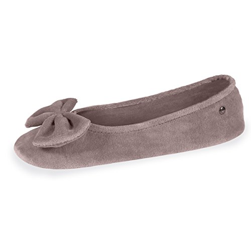 Isotoner – Zapatillas de bailarina Isotoner ref_iso34217-multicolor, gris, 35/36 EU