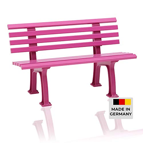 Banc de jardin Ibiza Color Edition - Lilas