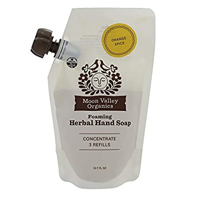 Orange Spice Herbal Hand Soap 10.7 Oz - Pack of 3