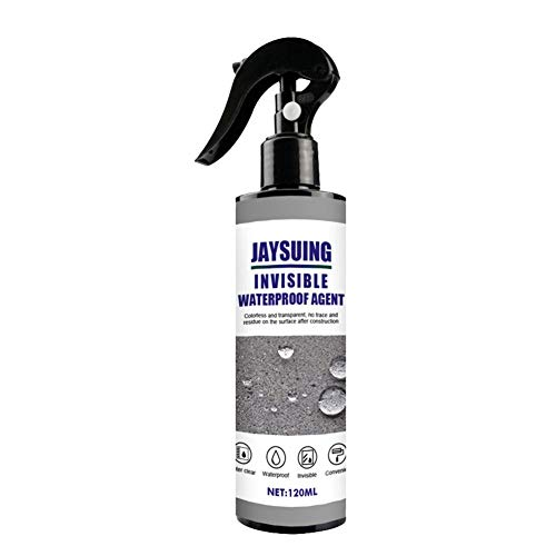 aniceday 120ml Waterproofing Agent,Super Strong Bonding Spray,Waterproof Mighty Sealant Spray,Bathroom Tile Permeable Invisible Waterproofing Agent For Roof Exterior Wall Repair