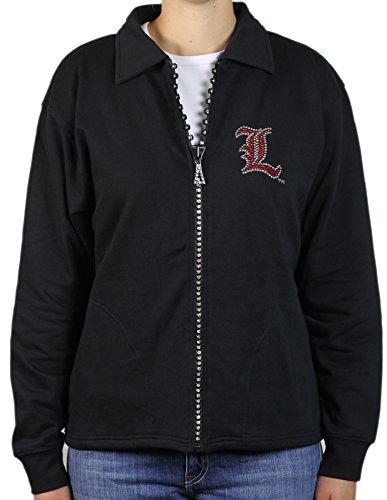 Nitro USA NCAA Kristall Reißverschluss Jacke, Damen, schwarz, Small