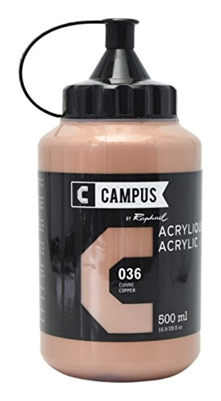 CAMPUS Copper Acrylic 500?ml Bottle