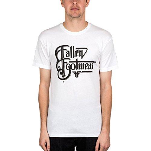Fallen Brothers t-Shirt pour Homme L Blanc - Blanc