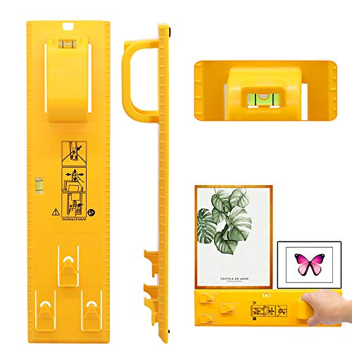 Yellow 5-100117 Under the Roof Decorating 6-100101 Hang and Level Picture Hanging Tool