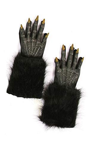 Horror-Shop Werewolf mains noires
