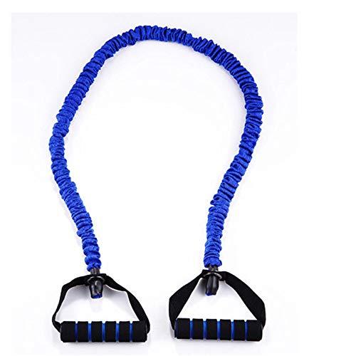 Resistencia Deportes Band Resistencia yoga de la venda elástica cuerda de la aptitud de resistencia que forma la cuerda de tensión de la cinta Gimnasio en casa ( Color : Blue , Size : 120cm )