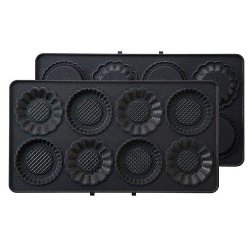 ブルーノ BRUNO ホットサンドメーカー 耳まで焼ける 電気 ダブル用ミニタルトプレート BOE044-TART