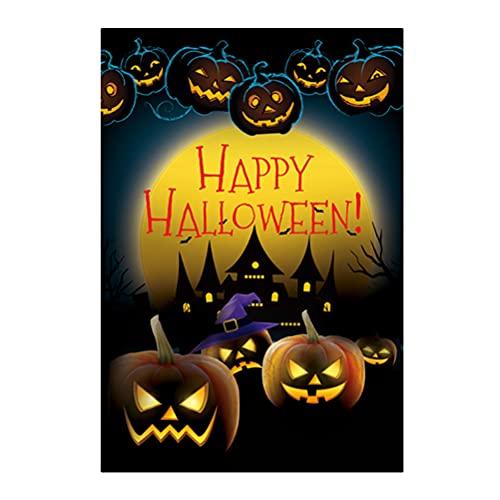 PRETYZOOM Halloween Deko 1 stück Halloween Party Flagge Haunted Haus Hängen Dekoration Party Banner Flagge