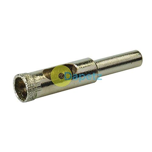 Haute Qualité Diamant Scie Cloche Mèche Perceuse 6-100mm pour Céramique, Porcelaine Carreaux Verre, Marbre, Granite - 10mm