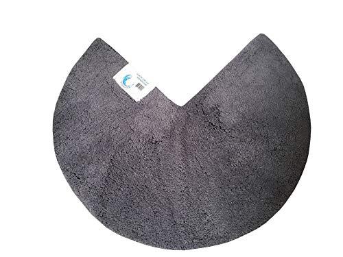 Cazsplash Duschmatte, grau, 90 cm