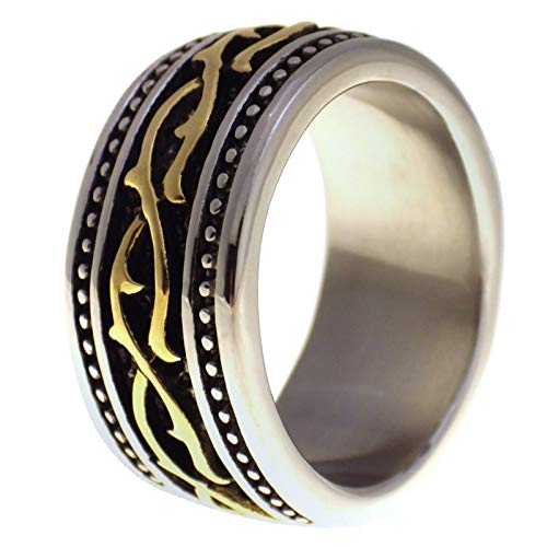 Fantasy Forge Jewelry Country Wedding Ring Western Barb Wire Band Size 14