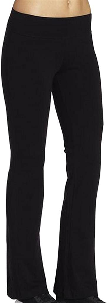 4HOW Women's Running Yoga Pants Fitness Boot-Cut Black Trousers Mail Denver Mall order cheap