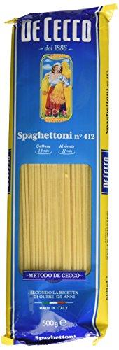 De Cecco Spaghettoni n° 412, Confezione da 4 x 500 g