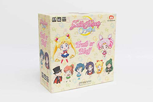 Japanime Games Sailor Moon Crystal: Truth Or Bluff Board Game, Multicolor