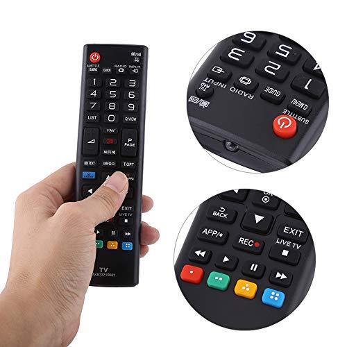 minifinker Control Remoto Rendimiento Estable Control Remoto de Alto Grado Smart TV Control Remoto Compatible con LG Smart TV para LG Smart TV