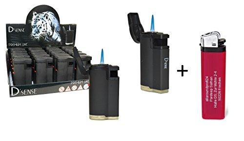 4 x D´Sense Black + 1 gratis Feuerzeug