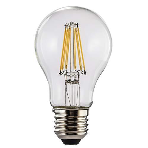 Ampoule LED, 8W, en forme de lampe à incand., filament, E27, blc chaud