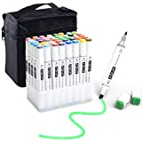 Coloring Markers Set for Adults with Standing...