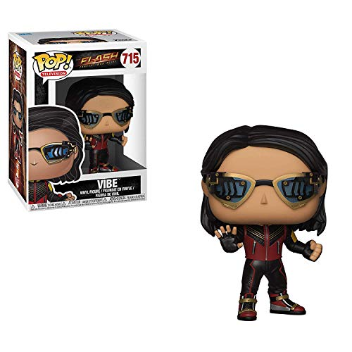 Funko Figura Pop DC Comics The Flash Vibe, Multicolor,Estandar