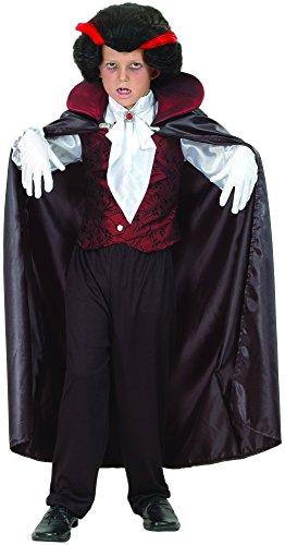 DEGUISE TOI - Déguisement Vampire élégant garçon - M 7-9 Ans (120-130 cm)