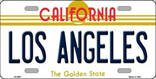 TammieLove New License Plate las vegas nevada state background novelty License Plate Sign 15x30 CM