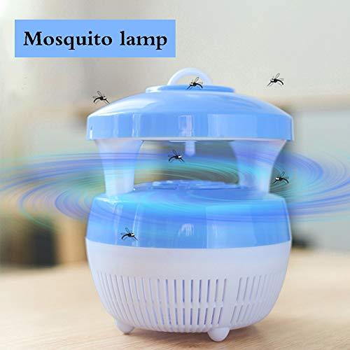ZZPD Elektrische Muggen Killer Lamp Draagbare Muggen Lamp UV Insect Killer Licht Vlieg Killer in USB Aangedreven Indoor Muggen Trapblue
