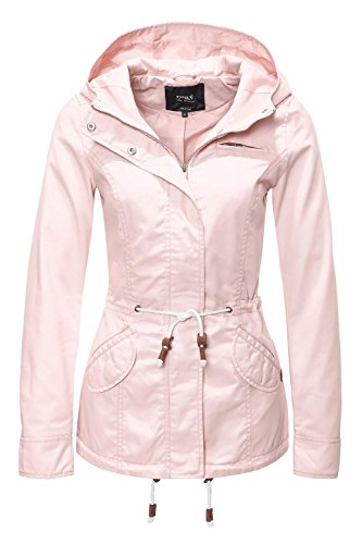 ONLY Damen Jacke Onllorca Spring Parka Jacket CC Otw, Rosa (Cameo Rose), Gr. S