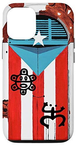 iPhone 12/12 Pro Puerto Rico Flag Coqui Sun Taíno Case Boricua Pride Cover Case