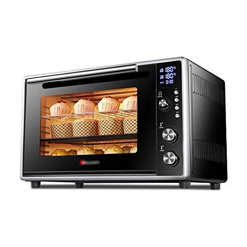 ZHJ Horno eléctrico de Aire Caliente Home Baking multifunción Completamente automática de Alta Capacidad Comercial 50L Horno