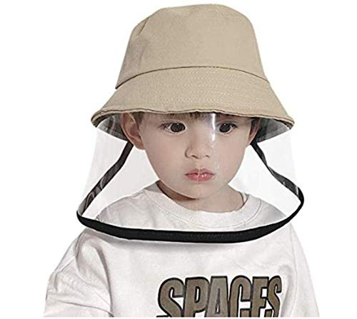 Sombrero Protector Facial, Gorra de Visera para Cara de Seguridad de Protección, Sombrero de Pescador Pantalla de Protección de Cara Protección de Ojos Y Cabeza