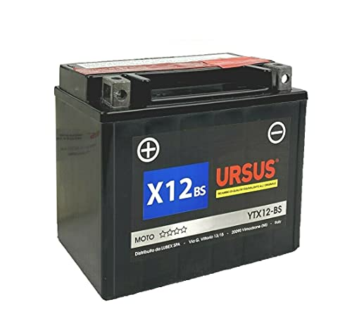 Batería URSUS X12 BS para moto 12AH…