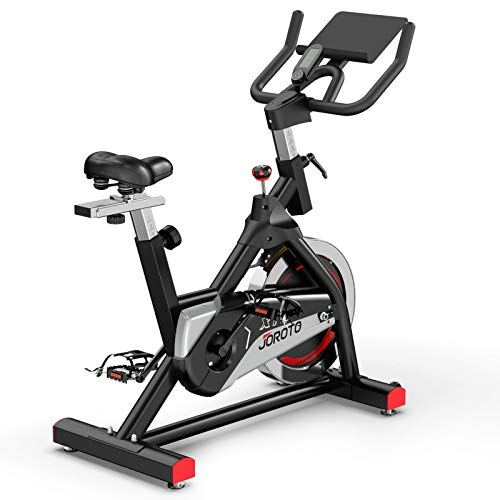 JOROTO Indoor Cycling Bike Stationary - Professional Exercise Bike Stationary Bike for Home Cardio Gym Workout